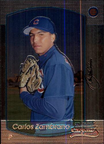 Photo of 2000 Bowman Chrome #303 Carlos Zambrano RC