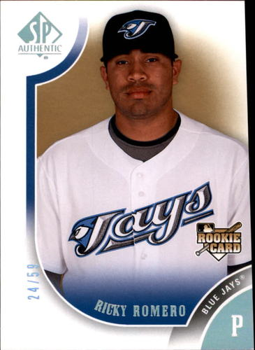 Photo of 2009 SP Authentic Silver #162 Ricky Romero