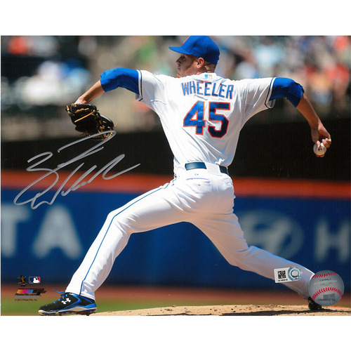 Zack Wheeler - Autographed 8X10 Photo