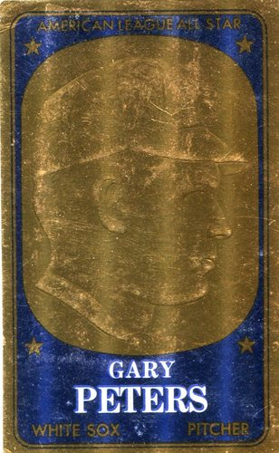 Photo of 1965 Topps Embossed #18 Gary Peters