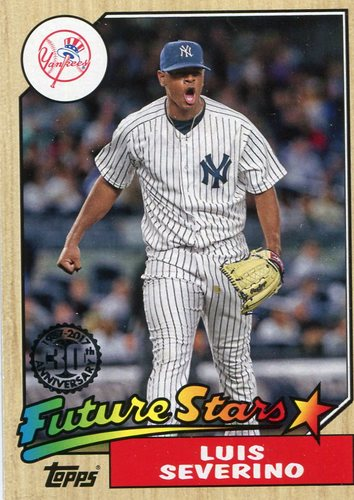 Photo of 2017 Topps '87 Topps #8723 Luis Severino