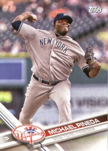 Photo of 2017 Yankees Topps #NYY17 Michael Pineda