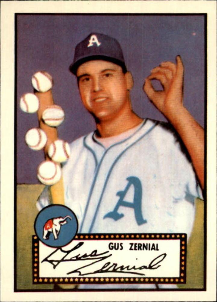 1983 Topps 1952 Reprint #31 Gus Zernial