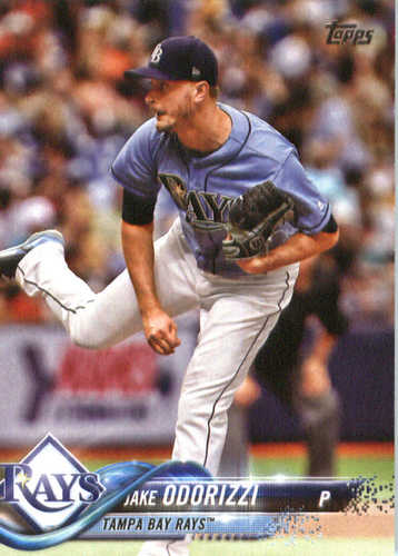 Photo of 2018 Topps #324 Jake Odorizzi