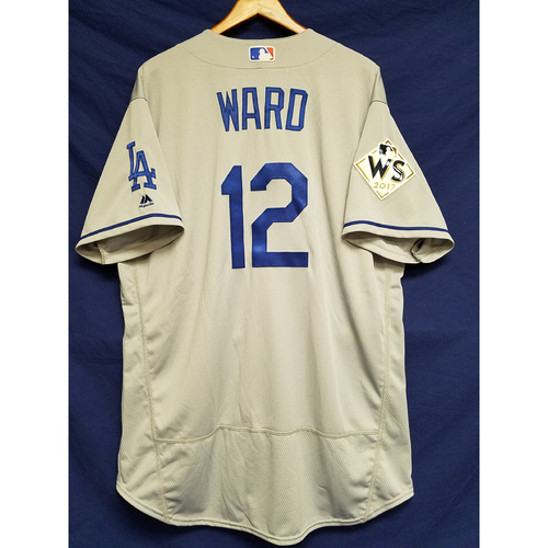 Photo of Turner Ward 2017 Road World Series Team-Issued Jersey