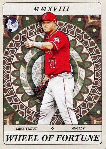 Photo of 2018 Topps Gypsy Queen Tarot of the Diamond #TOD22 Mike Trout
