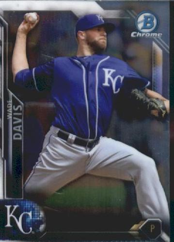 Photo of 2016 Bowman Chrome Vending '16 Bowman #119 Wade Davis