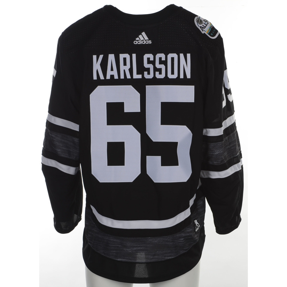 new products 156ce 66b2f Erik Karlsson San Jose Sharks Player-Issued 2019 All-Star ...