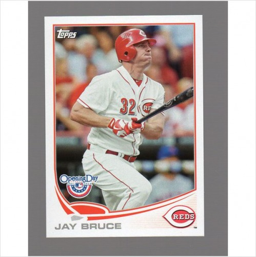 Photo of 2013 Topps Opening Day #204 Jay Bruce