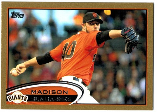 Photo of 2012 Topps Gold #103 Madison Bumgarner