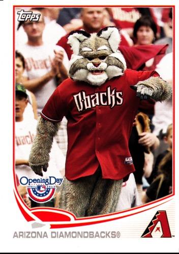 Photo of 2013 Topps Opening Day Mascots #M20 Arizona Diamondbacks