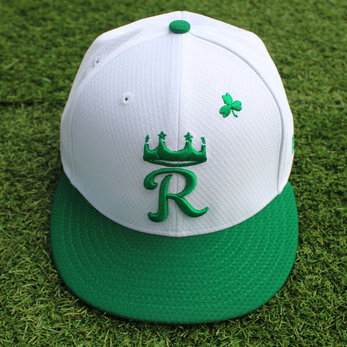 Photo of Team-Issued St. Patrick's Day Cap: Jorge Lopez (Size 7 1/8)