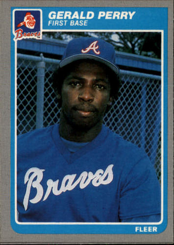 Photo of 1985 Fleer #338 Gerald Perry