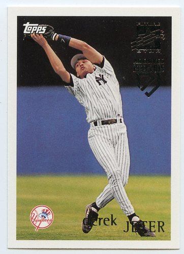 Photo of 2017 Topps Archives Derek Jeter Retrospective #DJ4 Derek Jeter/'96 Topps REPRINT