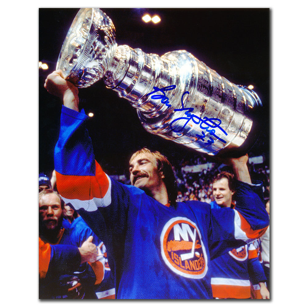 Bob Nystrom New York Islanders 1982 Stanley Cup Autographed 8x10