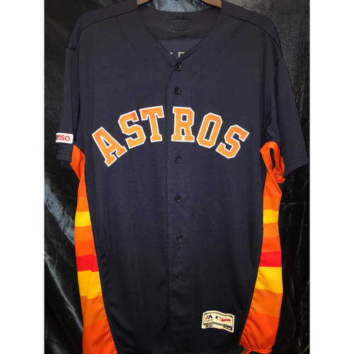 Photo of 2019 Game-Used Chris Devenski Rainbow Alternate Jersey (Size 44)