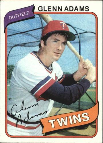 Photo of 1980 Topps #604 Glenn Adams