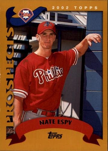 Photo of 2002 Topps #680 Nate Espy PROS RC