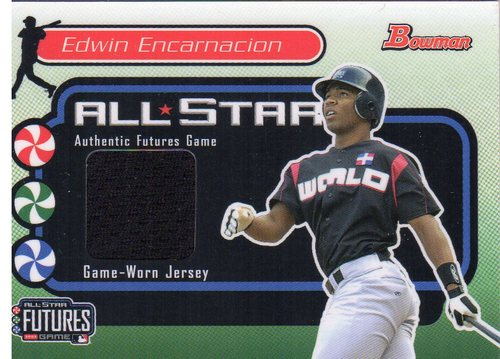 Photo of 2004 Bowman Futures Game Gear Jersey Relics #CT Chad Tracy B