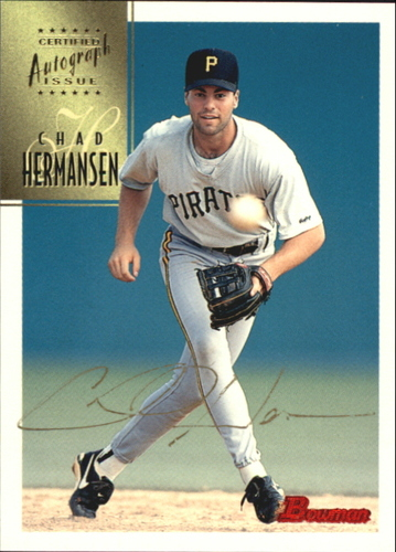 Photo of 1997 Bowman Certified Gold Ink Autographs #CA37 Chad Hermansen
