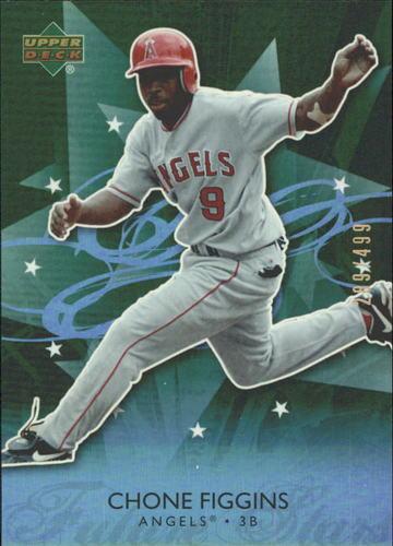 Photo of 2006 Upper Deck Future Stars Green #34 Chone Figgins /499