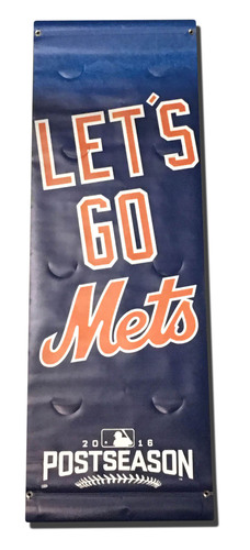 Photo of Blue 2016 Postseason Banner - Citi Field