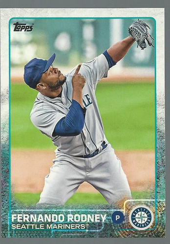 Photo of 2015 Topps #52 Fernando Rodney