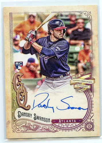 Photo of 2017 Topps Gypsy Queen Autographs #GQADS Dansby Swanson