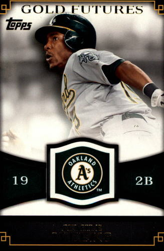 Photo of 2012 Topps Gold Futures #GF46 Jemile Weeks