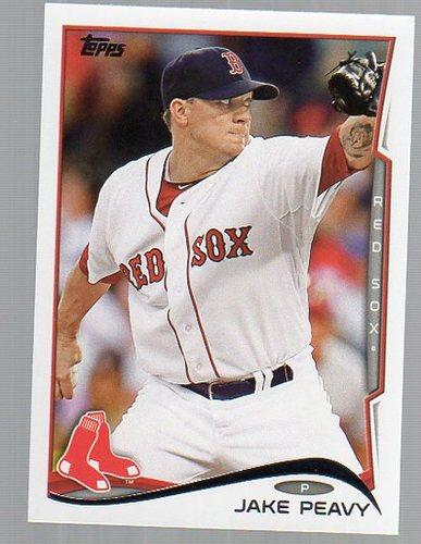 Photo of 2014 Topps #307 Jake Peavy