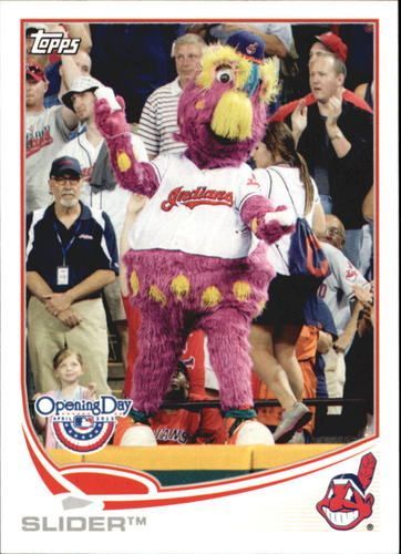 Photo of 2013 Topps Opening Day Mascots #M24 Slider