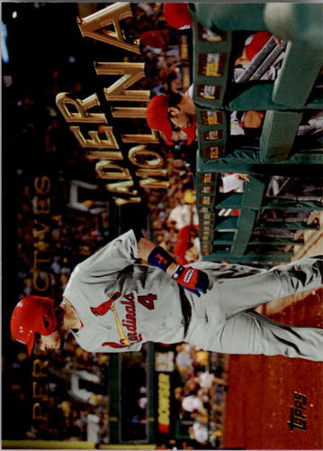 Photo of 2016 Topps Perspectives #P15 Yadier Molina