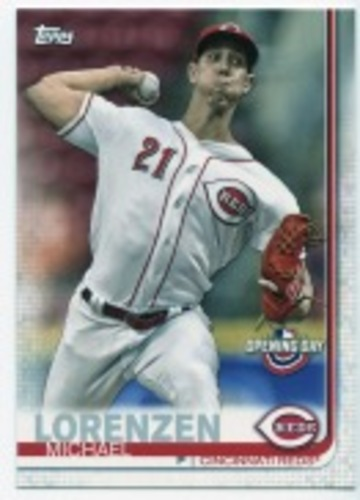 Photo of 2019 Topps Opening Day #25 Michael Lorenzen