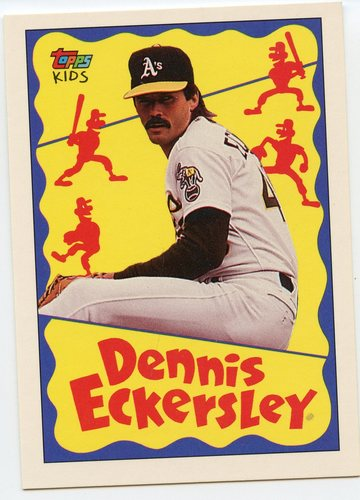 Photo of 1992 Topps Kids #119 Dennis Eckersley