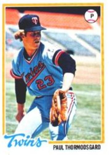 Photo of 1978 Topps #162 Paul Thormodsgard RC