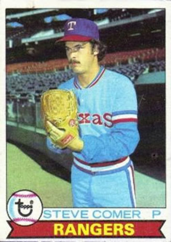 Photo of 1979 Topps #463 Steve Comer RC