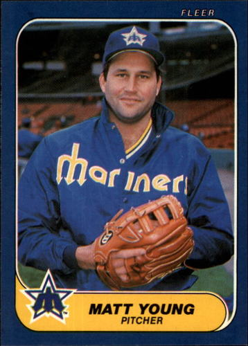 Photo of 1986 Fleer #481 Matt Young