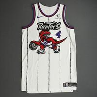 Rondae Hollis-Jefferson - Toronto Raptors - Game-Worn Classic Edition 1995-96 Home Jersey - Dressed, Did Not Play - 2019-20 Season