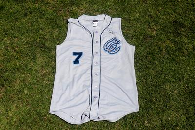Teoscar Hernandez #7 Grey Jersey