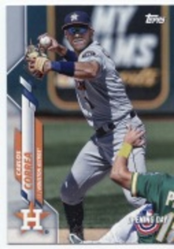 Photo of 2020 Topps Opening Day #124 Carlos Correa