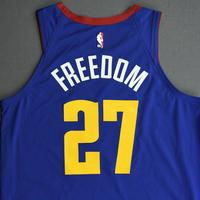 Jamal Murray - Denver Nuggets - Game-Issued Statement Edition Jersey - 2019-20 NBA Season Restart with Social Justice Message