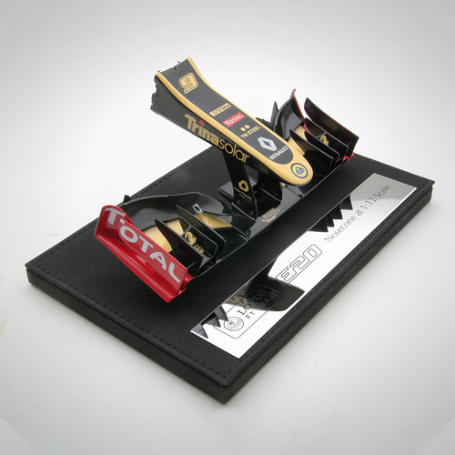 Photo of Kimi Raikkonen E20 Lotus 1:12 Scale Nosecone