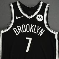 Kevin Durant - Brooklyn Nets - Kia NBA Tip-Off 2020 - Game-Worn Icon Edition Jersey - Nets' Debut - Scored 22 Points