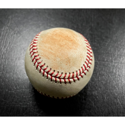 Photo of 2018 Game-Used Spring Training Baseball - Pitcher: Kyle Ryan | Batter: Stephen Piscotty (Single) - 3/11/18 vs CHC