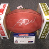 NFL - Panthers Sam Darnold signed authentic football
