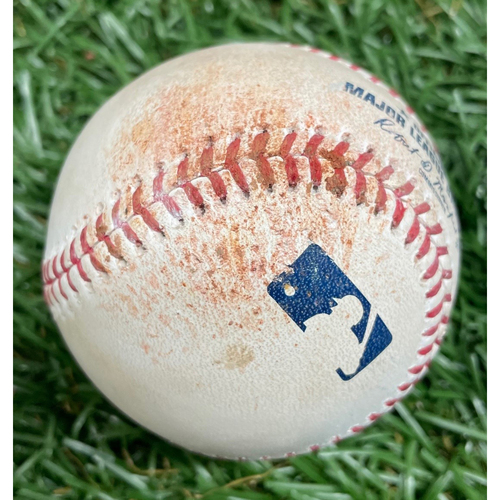 Photo of Game Used Baseball: Jake Waguespack MLB Debut - May 27, 2019 v TOR