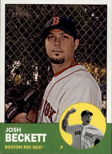 Photo of 2012 Topps Heritage #28 Josh Beckett