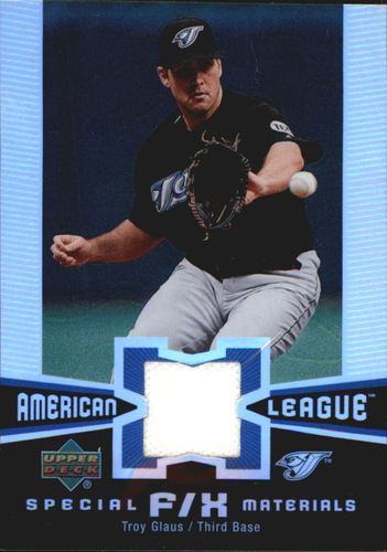 Photo of 2006 Upper Deck Special F/X Materials #TG Troy Glaus Jersey