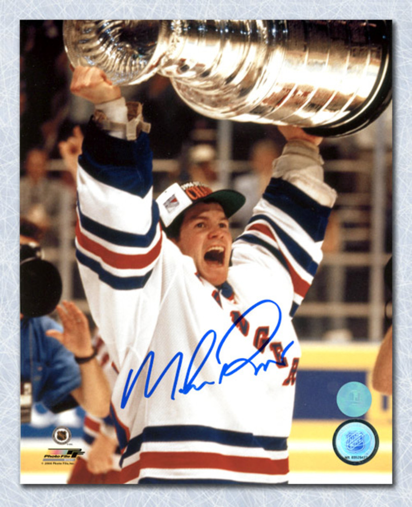 Mike Richter New York Rangers Autographed 1994 Stanley Cup 8x10 Photo