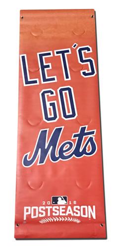 Orange 2016 Postseason Banner - Citi Field